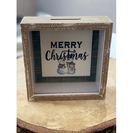 Box Salvadanaio Merry Xmas